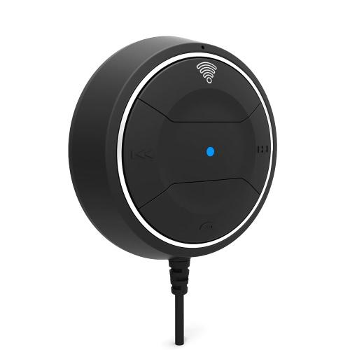 Auto Einsatz drahtloser Stereo-BT 4.0-Freisprech-Kfz-Einbausatz w / Mic sprechen & Musik-Streaming-Dongle Receiver w / 1A /2A Dual USB KFZ-Ladekabel + magnetische Halterung für Car Audio
