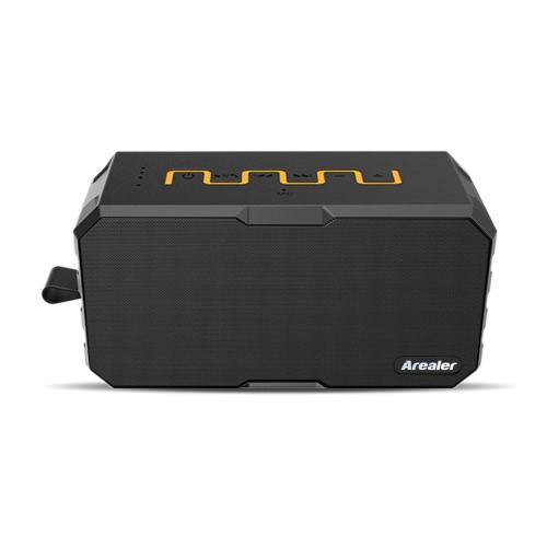 Arealer X2 estéreo BT Speaker dupla acústica driver impermeável à prova de choque Dustproof Altifalante w / 2600 do Banco de Emergência mAh mãos-livres w / Mic Aux TF Jogando para uso ao ar livre ou Duche