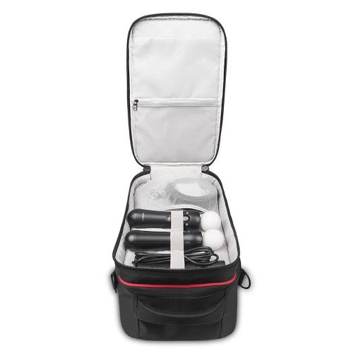 BUBM сумка для хранения Делюкс Чехол для PlayStation VR (PSVR) гарнитуры и аксессуары Водонепроницаемый пылезащитный противоударный сумка Ранцевый сумка Портативный Интерьер защиты сумка