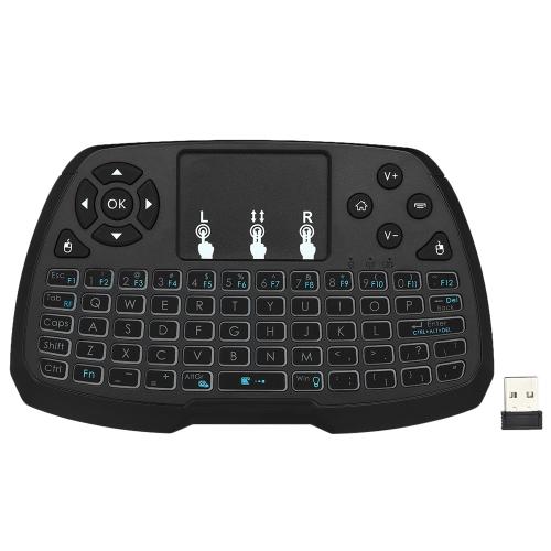 اللغة الإنجليزية VersionBacklit 2.4GHz لوحة المفاتيح اللاسلكية