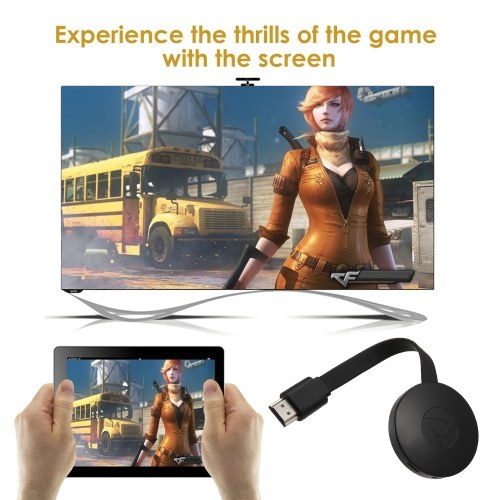 G4 Wireless WiFi Display Dongle Receiver 1080P HD TV Stick Miracast DLNA Airplay Mirroring Android iOS Smart Phone Tablet PC to HDTV Projector