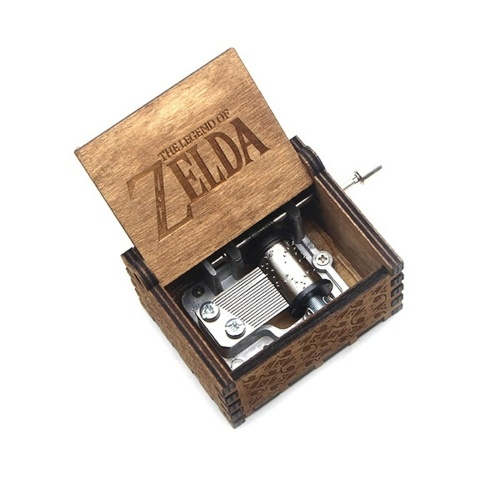 The Legend of Zelda Theme Song Music Box