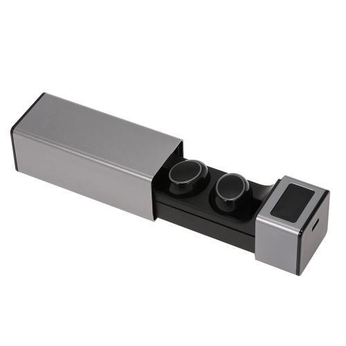 MX Auriculares inalámbricos Bluetooth Auriculares Bluetooth 5.0 TWS Auriculares Auriculares deportivos Auriculares con micrófono Estuche de carga IPX7 Impermeable CVC6.0 Cancelación de ruido