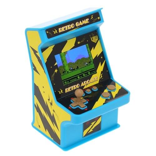 """Retrò Miniature Arcade Game Console Portable Handheld Game Machine 256 Giochi classici 2.8 """"Schermo con Wired Gamepad Regalo presente per i bambini Supporto AV Out"""