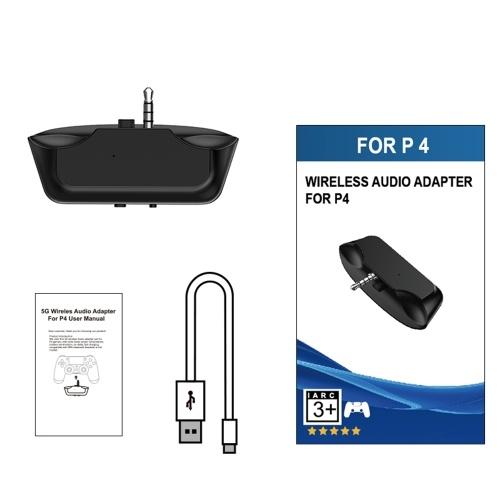 5G Беспроводной Мини Аудио Адаптер Bluetooth 5.0 Игровая Гарнитура Конвертер Приемник для PS4