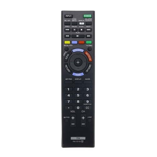 Universal Smart LED LCD TV Remote Control Replacement Controller For Sony, RM-YD103