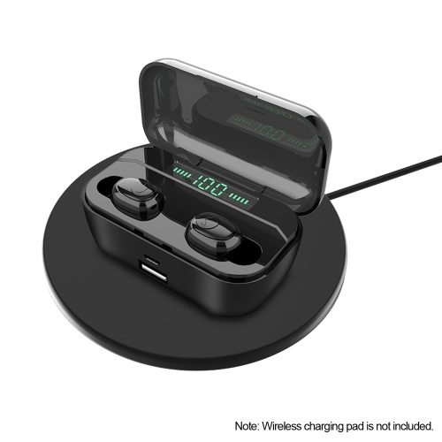 Bluetooth 5.0 TWS Earbuds True Wireless Headphones with Dual Mic