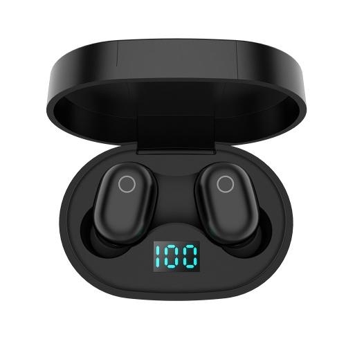 F2 TWS Беспроводные стереонаушники Mini Smart Bluetooth 5.0 Наушники-вкладыши с микрофоном Pick Up Автоматическое сопряжение наушников LED Power Display