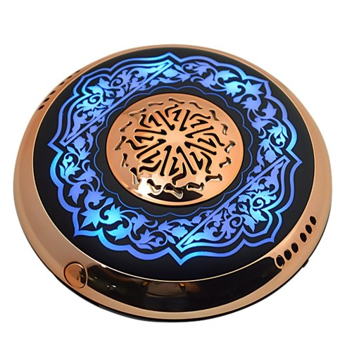 SQ712 Equantu Aromatherapy The Quran Speaker 8GB USB Charge BT Connection Adjustable Lighting Color Player