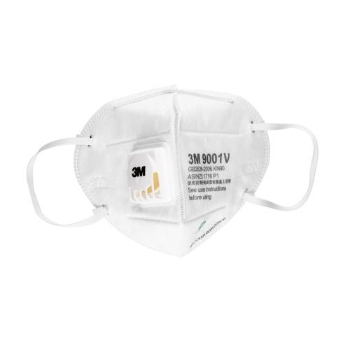 3M 9001V 25 Pieces Particulate Respirator KN90 Masks