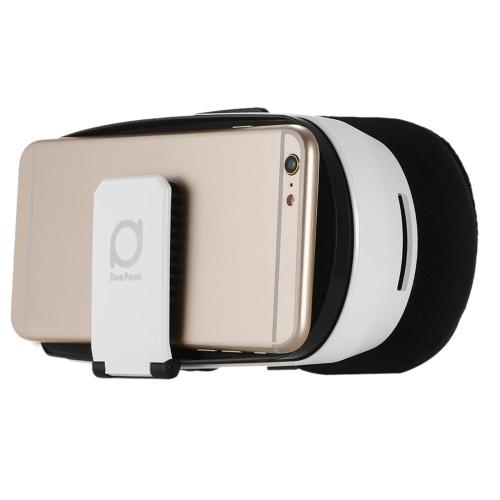 DeePoon V3 виртуальной реальности очки гарнитура головы-Mounted 3D очки VR 3D фильм игра универсальный для iPhone Samsung / все 4,7 до 5,7 дюйма андроид iOS смарт-телефоны