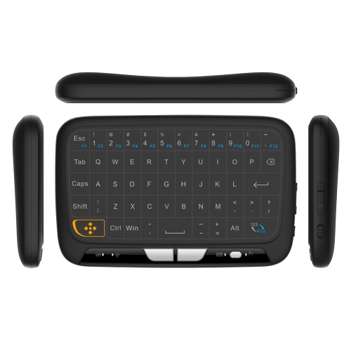 H18 2.4GHz Wireless Keyboard Full Touchpad V3115