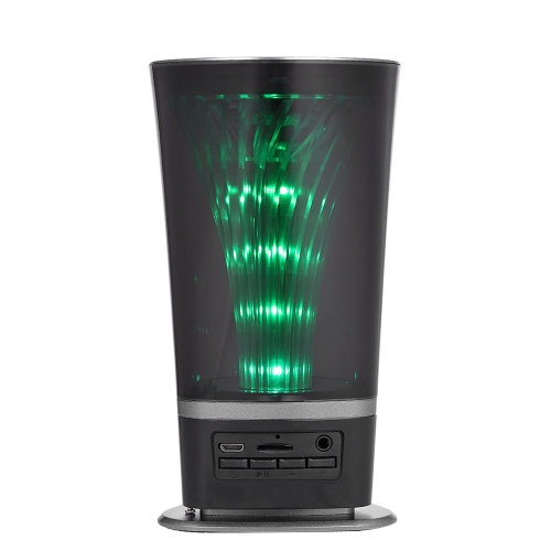 JY-01BT Импульсный светодиодный беспроволочный Bluetooth-динамик Черный
