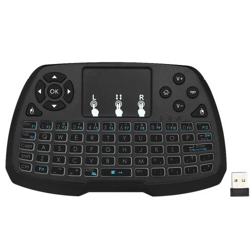 النسخة العربية 2.4 غيغاهرتز لوحة المفاتيح اللاسلكية