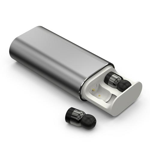 T10 Dual TWS True Wireless BT com fone de ouvido intra-auricular com microfone