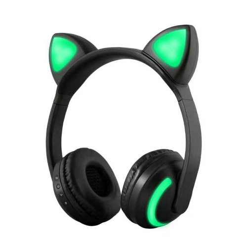 ZW-19 sans fil Bluetooth Headset Glowing Cat Ear écouteurs avec micro