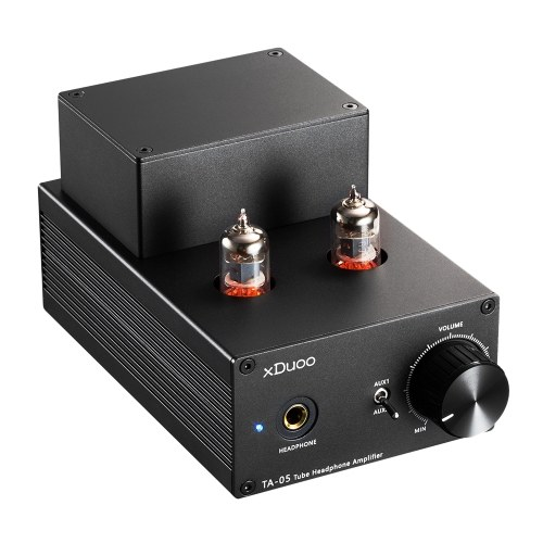 XDuoo TA-05 Hi-Fi Vacuum Tube Headphone Amplifier High-quality Stereo Sound for Music Enthusiasts