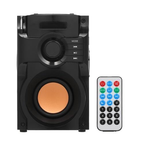 Grande potenza Altoparlante Bluetooth senza fili Subwoofer stereo Bassissimo Lettore musicale AUX IN Display LCD Radio FM Slot per schede TF U Disco Musica Riproduzione