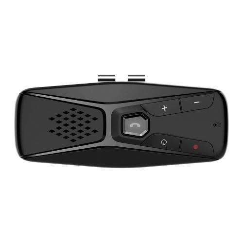 T823 BT Altavoz para automóvil Kit manos libres para automóvil Reproductor de música Reducción de ruido compatible con Asistente de voz