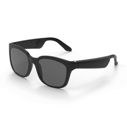 Gonbes G3 Bone Conduction Headphones Glasses Smart Sunglasses Wireless Bluetooth 5.0 Earphone Music Sunglasses Sports Headset Touch Control with Mic Storage Box