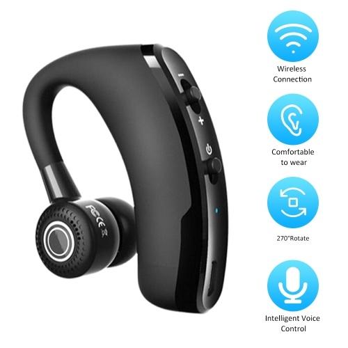 V9 Wirelessly BT Earbud-Kopfhörer Freisprech-Business-Headset Drive Call Sport Tragbare In-Ear-Stereo-Sprachsteuerungs-Ohrhörer