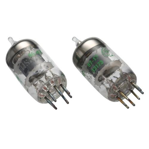 2PCS 5654W Electronic Tube Vacuum Tubes Replacement for 6AK5/6AK5W/6Zh1P/6J1/6J1P/EF95 Pairing Tube Amplifier DIY