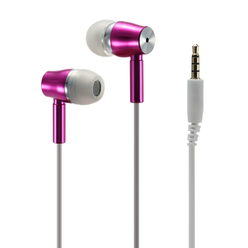 KangDao FC19 Radiation Free Headset Music Earphone Noise Reduction & HiFi with 3.5mm Jack Plug + Mic The Original Patented - White for iPhone iPad Samsung HTC Desktop Notebook Laptop MP3 MP4 MP5