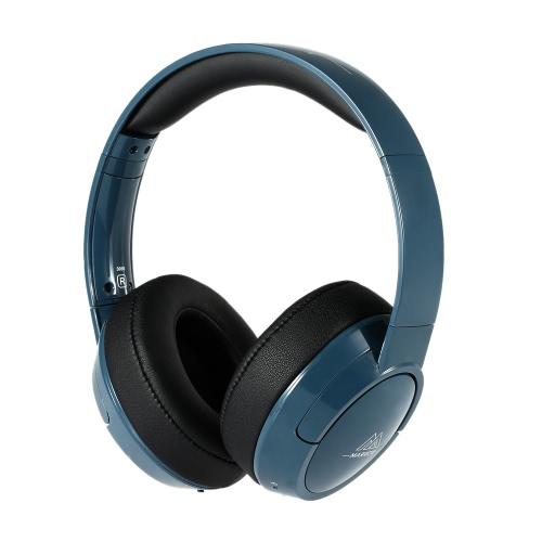 MEDULA 306B auscultadores sem fio BT Headset BT 4.0 poderoso Bass estéreo mãos-livres com microfone escuro azul para iPhone 6S 6 Samsung S6 nota 5 outro BT-habilitado dispositivos