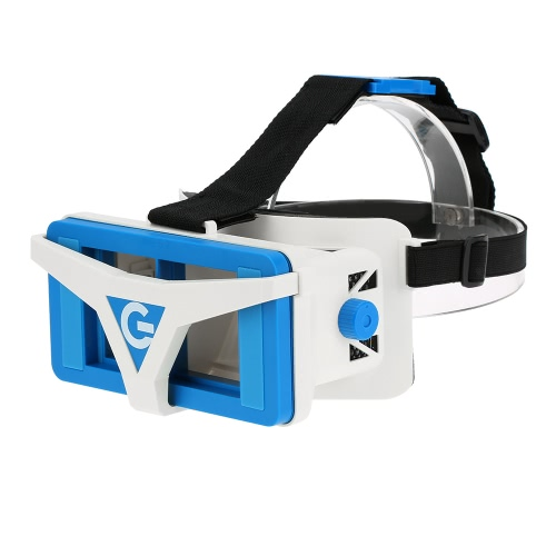 VR Box Virtual Reality Glasses 3D VR Headset 3D Movie Game Head-mounted Display Universal for Android iOS Smart Phones within 3.5 to 6.0 Inches