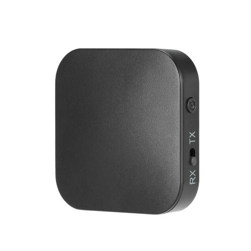 2 en 1 BT Audio Transmitter Adapter & Receiver Adaptateur sans fil flux musique stéréo adaptateur 3,5 mm Aux-in Car Kit