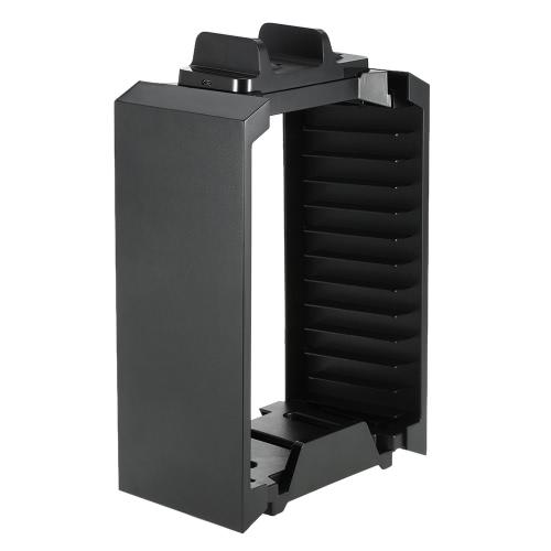 Kit de support de stockage DOBE multi-fonctionnelle pour les contrôleurs PS4 jeu Disques avec double contrôleur Charging Dock