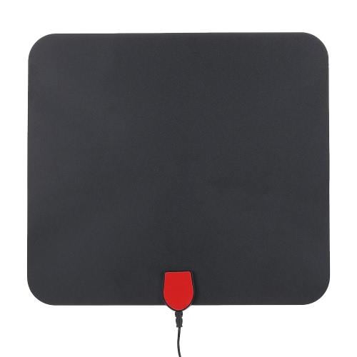 Крытый цифровой ТВ антенны High Performance 25 Mile Range с 5M Коаксиальный кабель лучшего приема HDTV