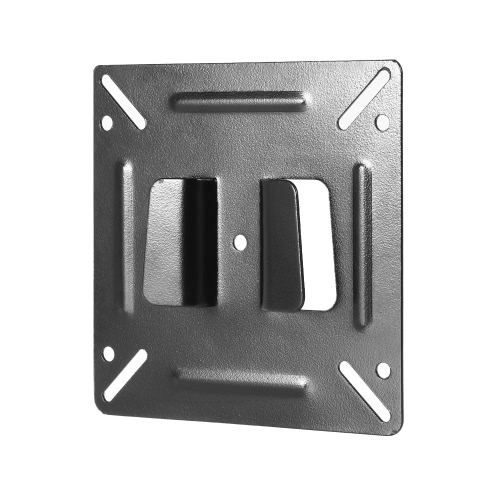 Suporte de montagem em parede C2 TV para a maioria dos monitor de tela plana de plasma de LCD de 14-24 polegadas Max.33lbs / 15kg Capacidade de carga Montagem fixa Preto