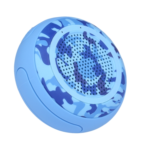 Swimming Speaker Pool Floating Wireless BT Speakers Blue