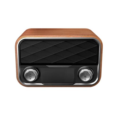 I10 Портативный беспроводной Bluetooth-динамик Деревянная поверхность
