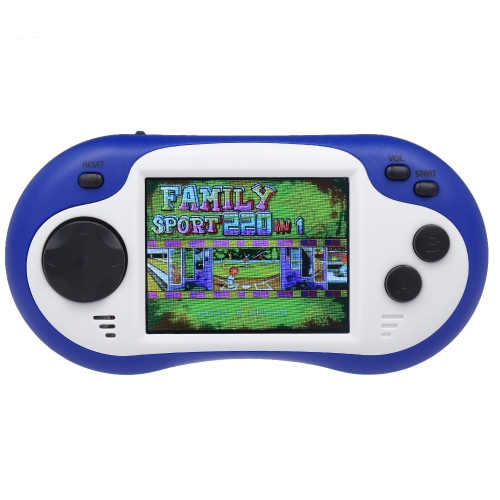 Portable Handheld Game Console Players Blue