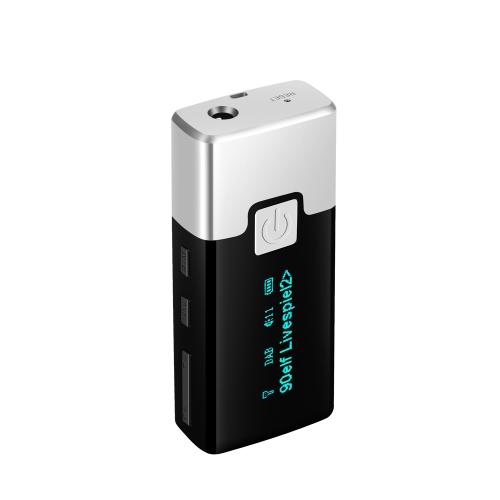 P10 Portable Pocket DAB + FM Rádio Digital com fone de ouvido