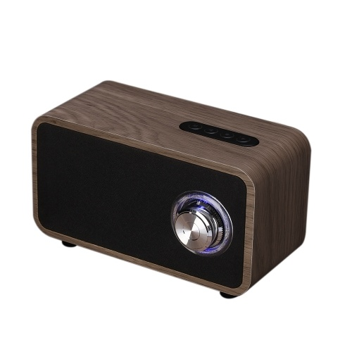 Haut-parleur Bluetooth en bois sans fil