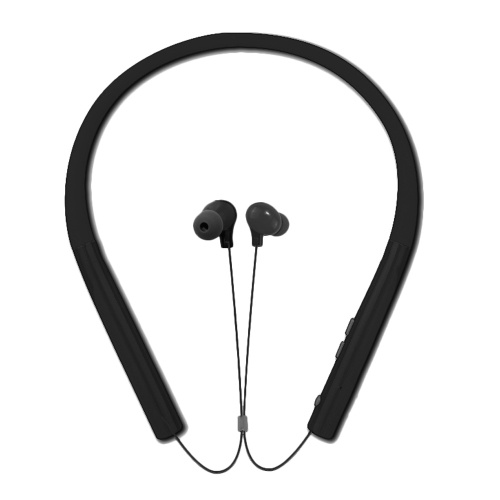 MS-770A Sports BT 4.2 Headset Wireless Stereo Music Headphone Neckband Style Earphones for iPhone Samsung Black thumbnail