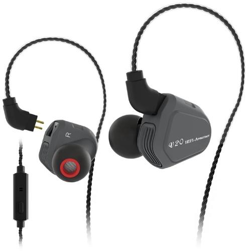 سماعات رأس سلكية من TRN V20 3.5 ملم