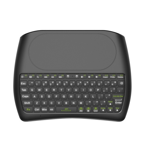 D08 English Version 2.4GHz Wireless QWERTY Keyboard Remote Control