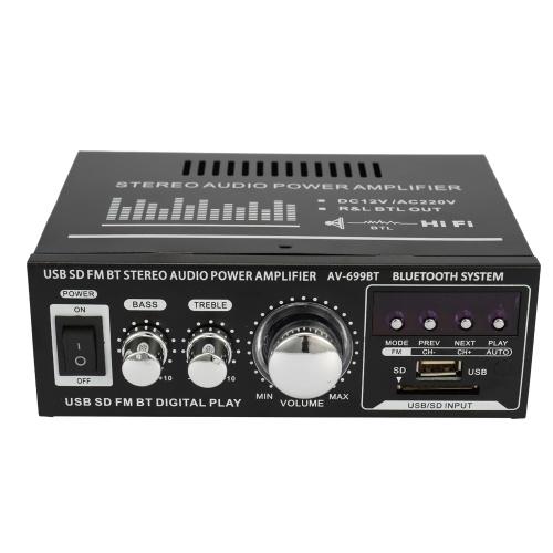 AC 220V / DC12V HIFI Audio Stereo Power Amplifier for Car and Home