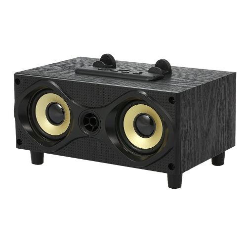 JH-108 Беспроводные Bluetooth-динамики Внешняя звуковая коробка 10 Вт Стереофонический сабвуфер AUX IN FM-радио TF U Drive Reading