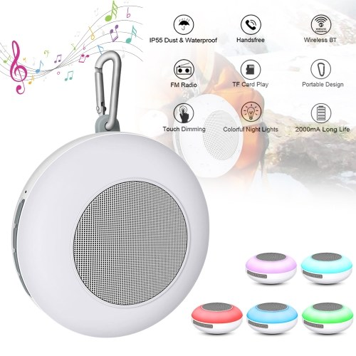 Colorful Lamp IP55 Waterproof BT Speaker