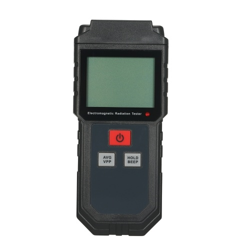 ET825 Electromagnetic Radiation Tester Wave Radiation Detector EMF Meter Portable Handheld LCD Display 5Hz-3500MHz Electric Field Magnetic Field Dosimeter