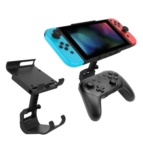 Soporte de clip de montaje para controlador de juego compatible con el soporte de gamepad de controlador Pro de Nintendo Switch para accesorio de consola NS Switch