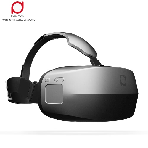 DeePoon M2 All-in-one Machine Virtual Reality Headset 3D Glasses 96°FOV 5.7Inch 2K AMOLED Display Screen Supports 60Hz / 70Hz FPS 2D / 3D / Panorama / Three-dimensional Immersive Experience