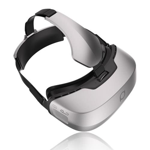 DeePoon M2 All-in-one-Maschine Virtual Reality Headset 3D-Brille 96 ° FOV 5.7Inch 2K-AMOLED-Display-Bildschirm Unterstützt 60Hz / 70Hz FPS 2D / 3D / Panorama / Dreidimensionale Intensives Erlebnis