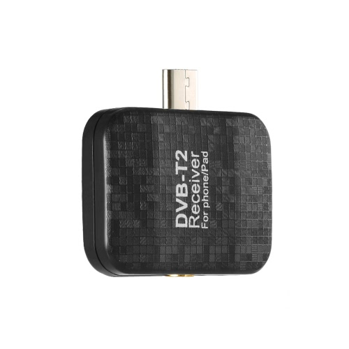 Micro USB DVB-T2 HD TV Tuner Stick Dongle Receiver Portable for Samsung Android Phone Tablet Pad