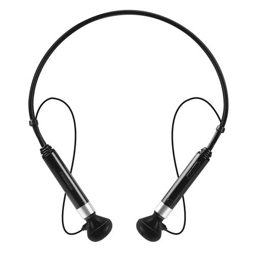 Fineblue BT Casque cou-strap Casques stéréo BT 4.1 Earphone NFC mains-libres avec Absorption magnétique Mic Anti-lost Appel Vibration pour téléphones intelligents Périphériques BT